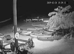 Bombeiros iniciando buscas por volta das 19h30 - imagem da Conexão GeoClima