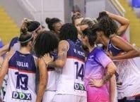 Equipe do Basquete Feminino Blumenau