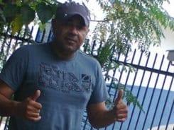 Roberio Cesar foi assassinado com diversos tiros - foto do Facebook pessoal