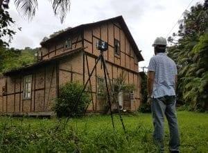 O imóvel no distrito da Vila Itoupava abrigou o tradicional Salão Kunze