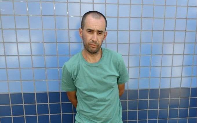 Ricardo da Costa acumula 26 passagens pela polícia por crimes diversos - foto da PMSC