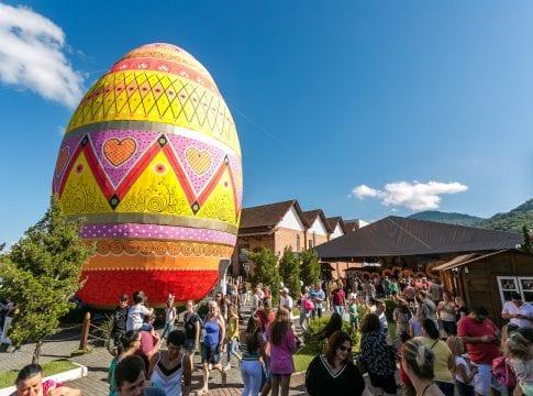 Público da Osterfest já soma 210 mil pessoas - foto de Daniel Zimmermann