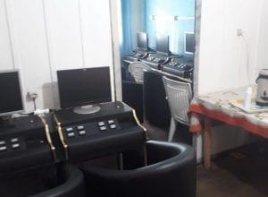 Máquinas caça-níqueis localizadas no bairro Velha - foto da PMSC
