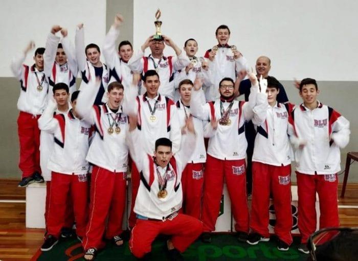 Blumenauenses somaram 90 medalhas - foto da FMD