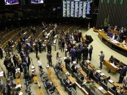 Deputados durante votação da Reforma da Previdência - Fabio Rodrigues Pozzebom/Agência Brasil