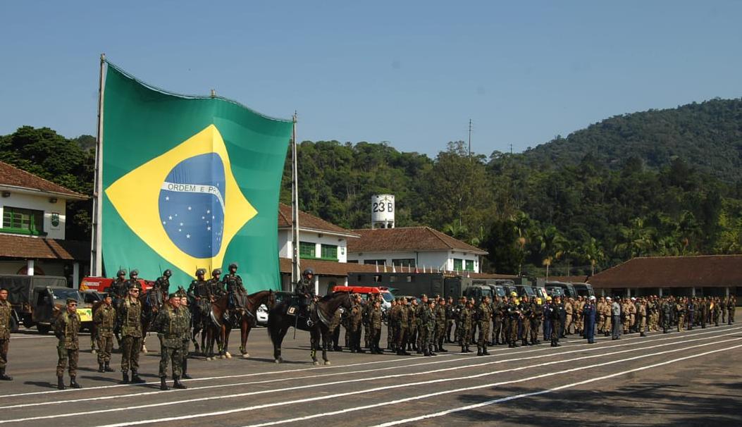 Encerramento do III Exercício da Força de Ajuda Humanitária - foto do Exército Brasileiro