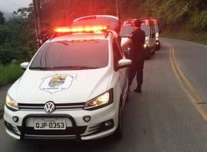 Viaturas envolvidas no atendimento do acidente - foto do Samu