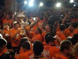 Comemoração da equipe Arromba neste domingo - foto da organização