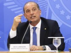 O ministro da Casa Civil, Onyx Lorenzoni, diz que na próxima semana governo publica decreto com recursos para ministérios - Arquivo/Agência Brasil