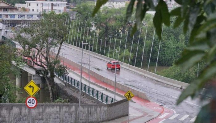 Ponte Osvaldo Beltramini, em Ibirama - foto do MDR