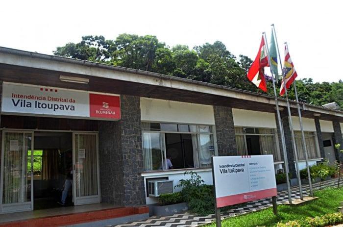 Intendência da VIla Itoupava - foto da Prefeitura