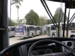 Ônibus do transporte coletivo - foto da Prefeitura de Blumenau