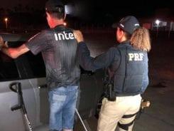 Motorista embriagado já havia sido preso em setembro pelo mesmo crime - foto da PRF