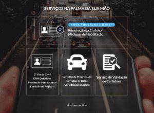 Portal Detran Digital oferece serviços pela internet