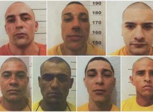 Detentos que fugiram do Presídio de Itajaí