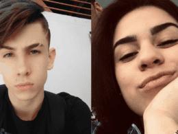 Christian Zapelini Kaschinski e Gabrielly Poliana Moreira dos Santos - foto das redes sociais