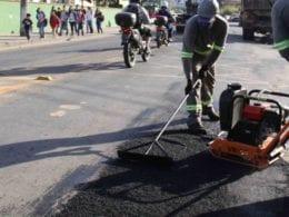 Cerca de R$ 1 milhão serão investidos em recuperação asfáltica - foto de Marcelo Martins