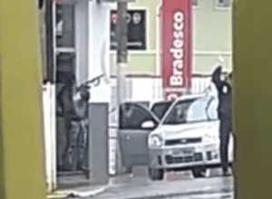 Criminoso atira para o alto durante assalto em Apiúna