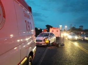 Colisão causa morte de jovem de 19 anos em Blumenau - Wellington Civiero/NW Blumenau