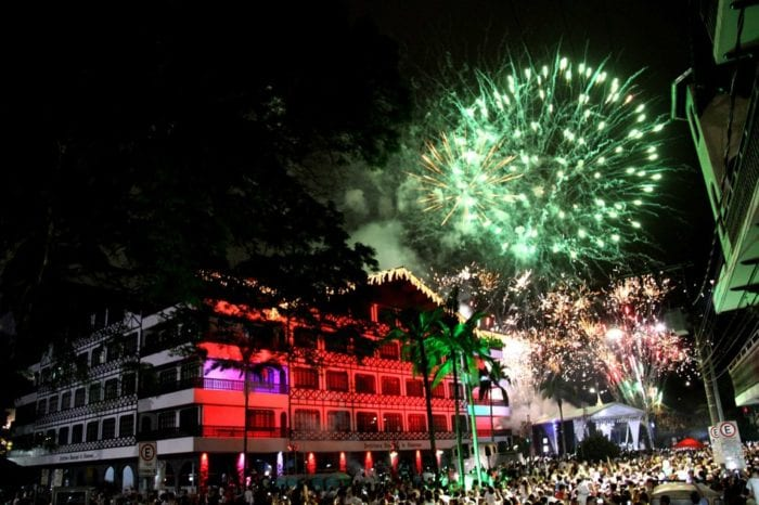 Réveillon de Blumenau fogos com baixo ruído - foto de Marcelo Martins