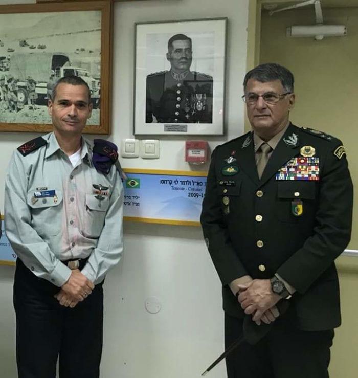 Gen EDSON LEAL PUJOL, Comandante do Exército Brasileiro, em Visita Institucional às Forças de Defesa de Israel, de 13 a 22 de dezembro de 2019. Por Israel Blajberg
