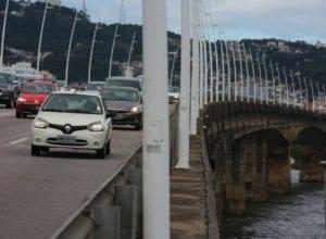 Ponte Colombo Salles, em Florianópolis - foto de Julio Cavalheiro