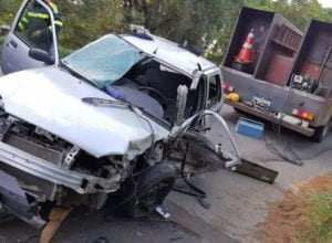 Acidente causa morte de homem na BR-470 em Ibirama - foto de Guincho Marquinhos