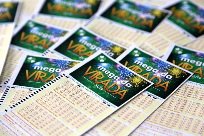 Bilhetes para a Mega da Virada - foto da Caixa Econômica