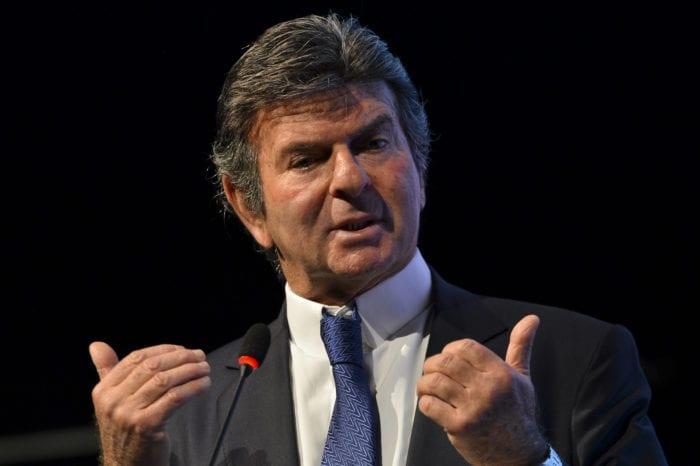 O ministro do Supremo Tribunal Federal, Luiz Fux - foto de Marcelo Camargo