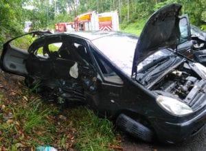 Colisão entre veículos em Ibirama resulta em morte de mulher - foto do CBVI