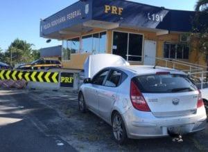 Documento com R$ 30 mil em multas é abordado em Barra Velha - foto da PRF