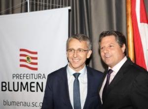 Marcelo Lanzarin assume como prefeito interino - foto de Marcelo Martins