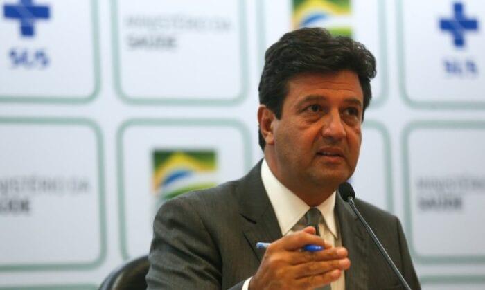 Ministro Luiz Henrique Mandetta - foto de Marcello Casal Jr.
