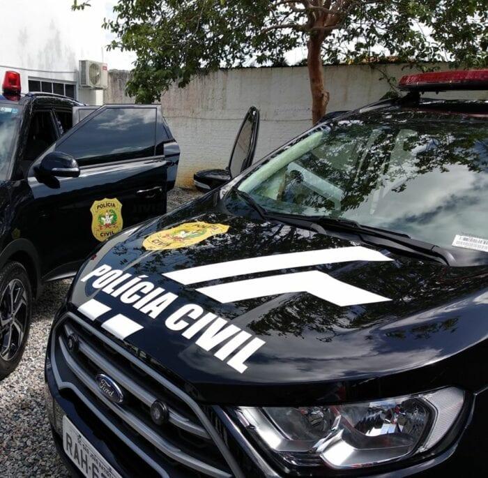 Viatura da Polícia Civil de Santa Catarina - foto da Polícia Civil