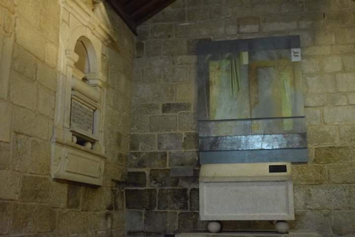Interior do mausoléu