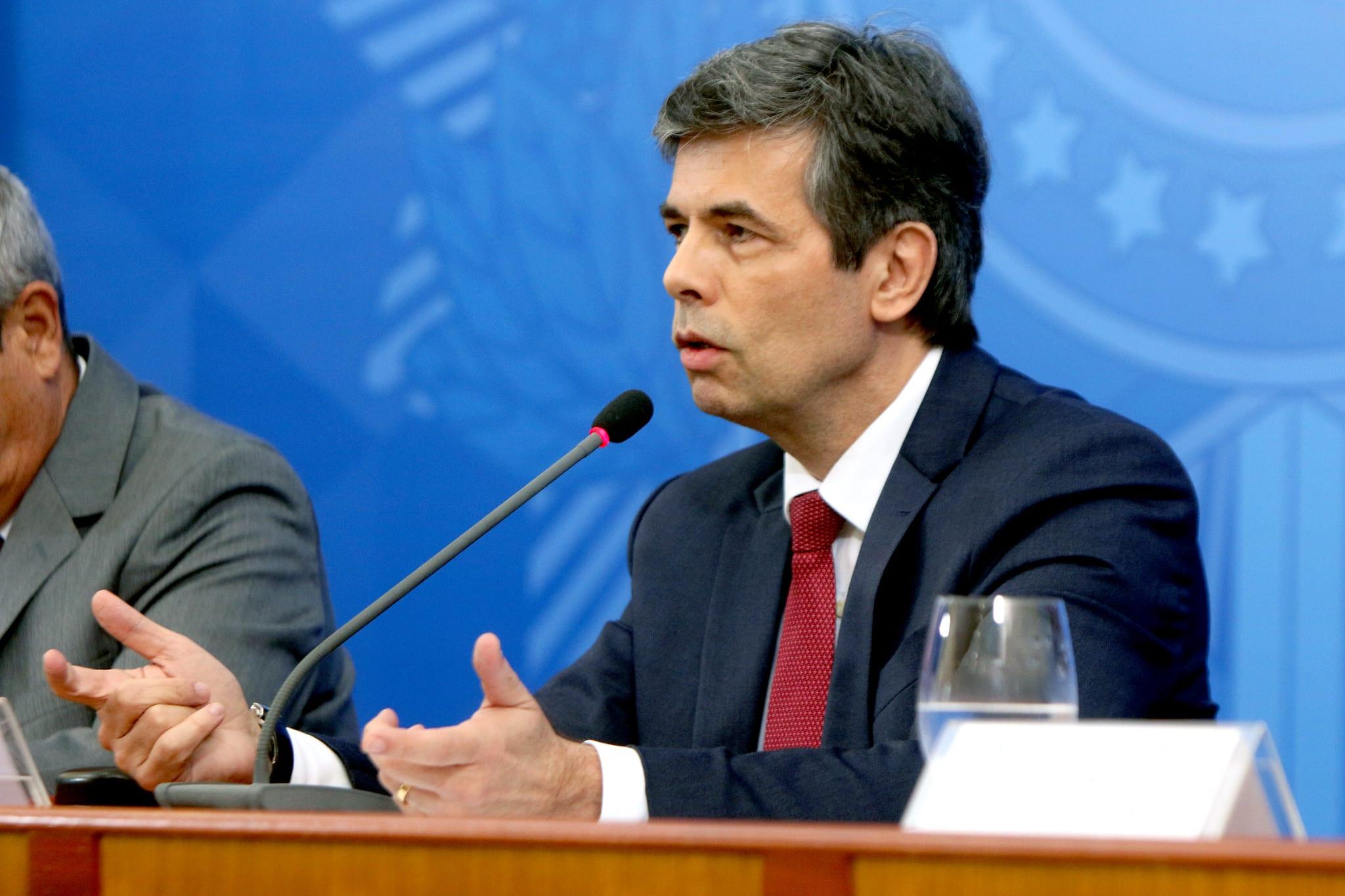 Ministro da Saúde Nelson Teich - foto de Erasmo Salomão