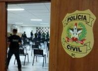 Membros da força-tarefa para investigar a compra de respiradores - foto da Polícia Civil