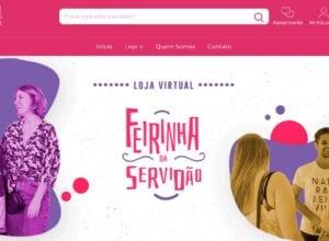 Site da Ferinha da Servidão - imagem do site