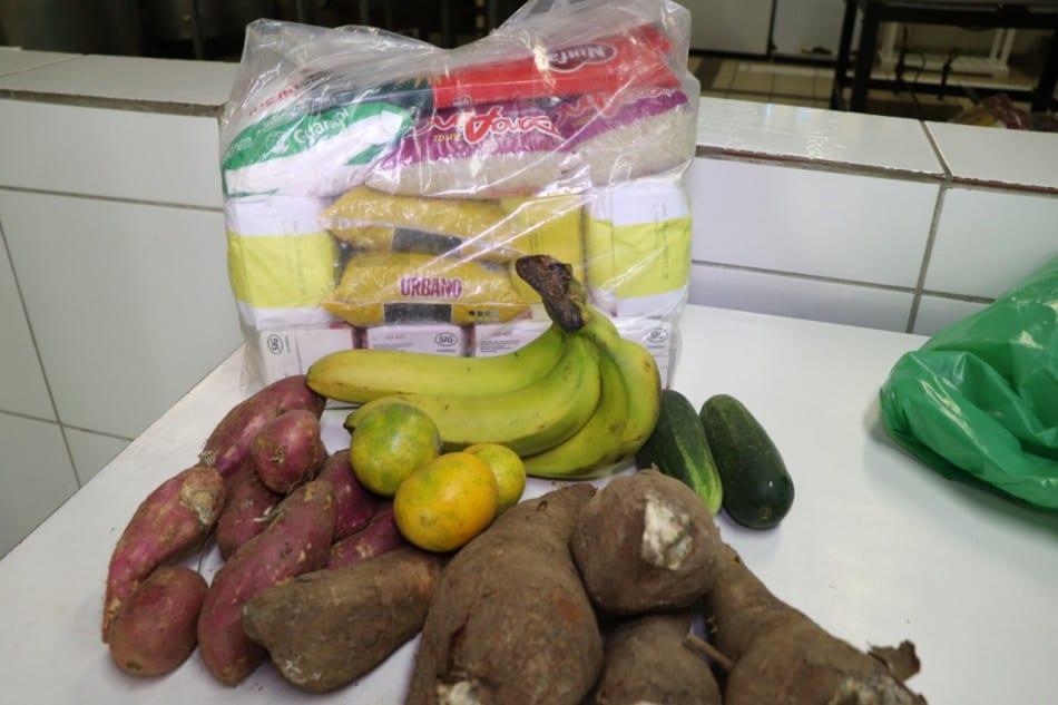 Kits Alimentação Escolar - foto da Prefeitura