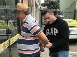 Polícia Civil de Ascurra captura foragido por estupro - foto da Polícia Civil