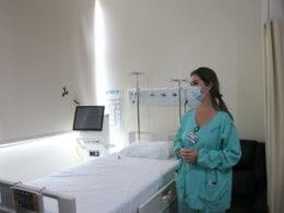 Ampliação de leitos de terapia intensiva em Blumenau - foto de Eraldo Schnaider
