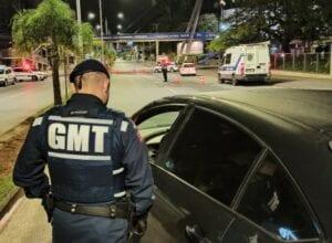 Guarda aborda 120 veículos durante fiscalização - foto da GMT