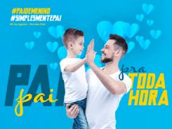 "Campanha ""Pai pra toda hora"" - foto da CDL de Blumenau"