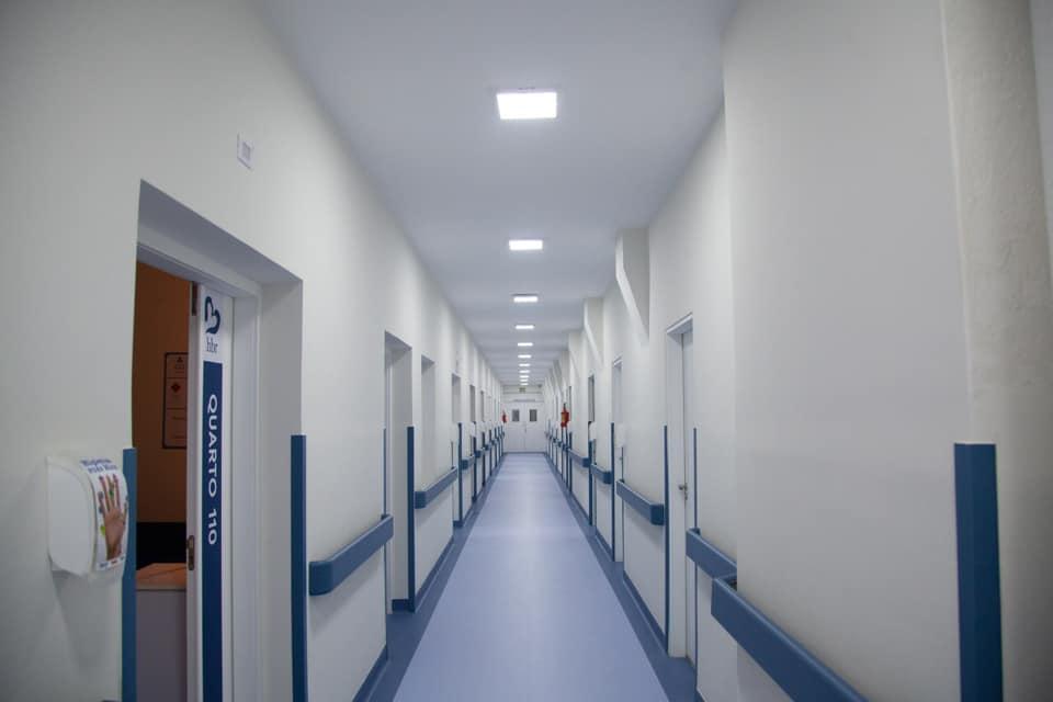 Ala do Hospital Beatriz Ramos em Indaial - foto da assessoria HBR