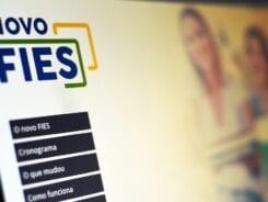 Site do Fundo de Financiamento Estudantil (Fies) - foto de Marcelo Casal/Agência Brasil