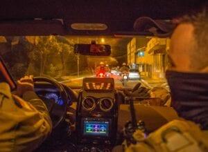 Policiais realizam ronda preventiva - Foto da Polícia Militar