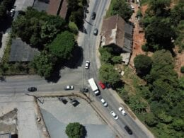 Rotatória do bairro Itoupavazinha é ativada pela Prefeitura - Eraldo Schnaider
