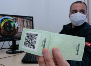 Lançamento QR code nas novas carteiras de identidade - foto de Mauricio Vieira/Secom