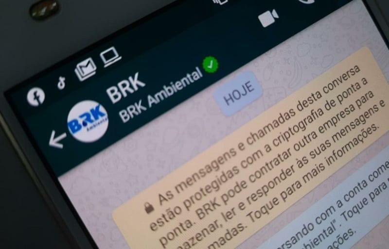 WhasApp da BRK Ambiental