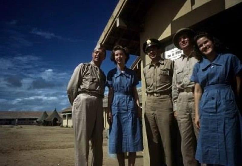 Base aérea do exército dos Estados Unidos - Parnamirim Field em Natal no ano de 1944